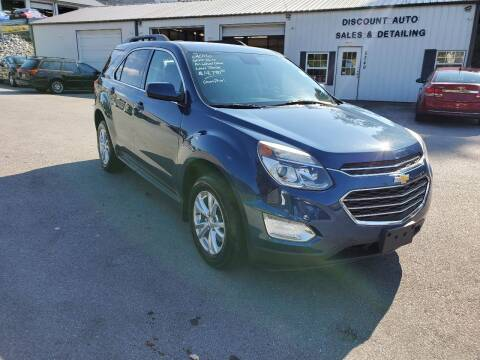2016 Chevrolet Equinox for sale at DISCOUNT AUTO SALES in Johnson City TN