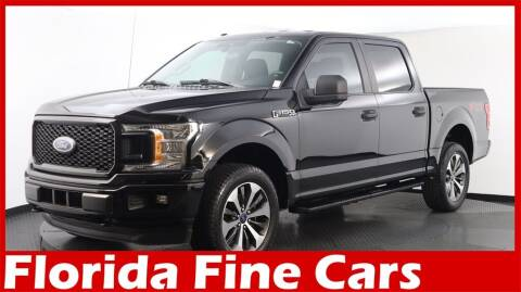 2019 Ford F-150 for sale at Florida Fine Cars - West Palm Beach in West Palm Beach FL