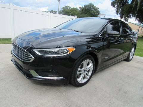 2018 Ford Fusion Hybrid for sale at D & R Auto Brokers in Ridgeland SC