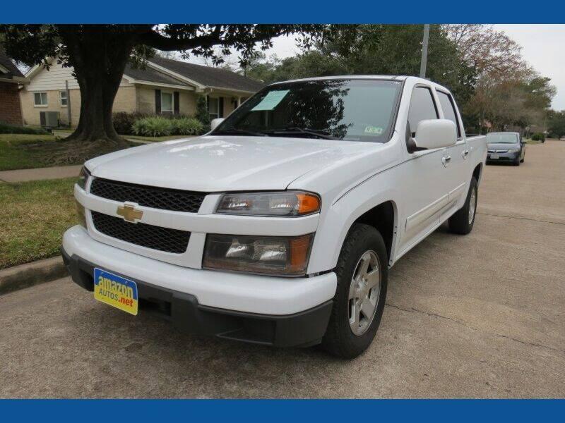 2011 Chevrolet Colorado for sale at Amazon Autos in Houston TX