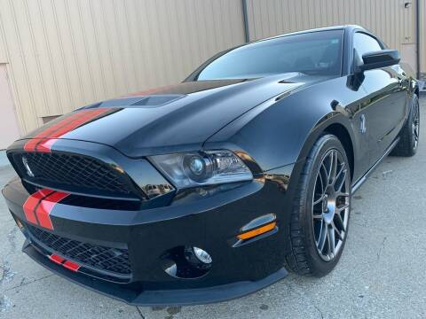 2012 Ford Shelby GT500 for sale at Prime Auto Sales in Uniontown OH