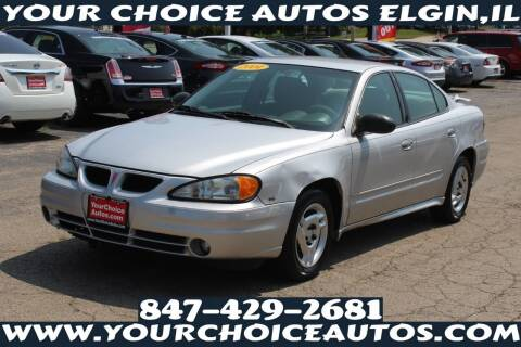 2004 Pontiac Grand Am for sale at Your Choice Autos - Elgin in Elgin IL
