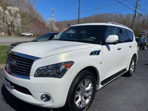 2014 Infiniti QX80 for sale at PIONEER USED AUTOS & RV SALES in Lavalette WV