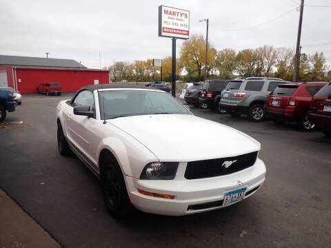 2007 Ford Mustang for sale at Marty's Auto Sales in Savage MN