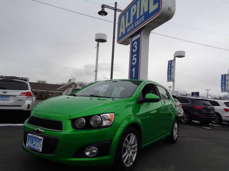 2014 Chevrolet Sonic for sale at Alpine Auto Sales in Salt Lake City UT