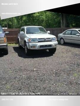 2001 Toyota 4Runner for sale at MILLDALE AUTO SALES in Portland CT