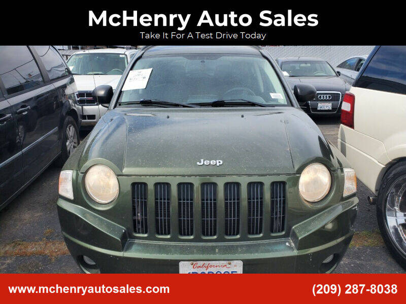 2007 Jeep Compass for sale at MCHENRY AUTO SALES in Modesto CA