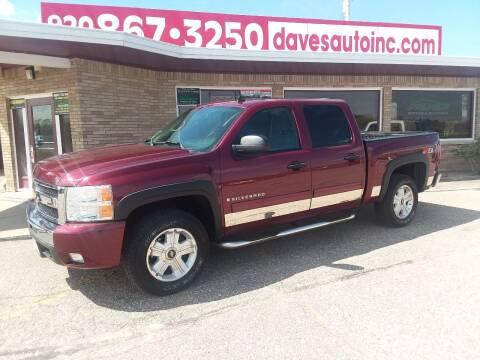 2009 Chevrolet Silverado 1500 for sale at Dave's Auto Sales & Service in Weyauwega WI