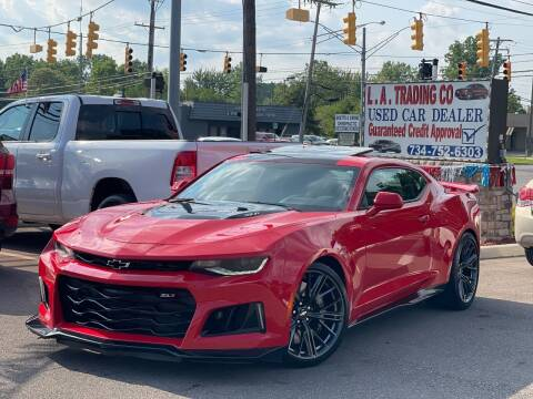 2018 Chevrolet Camaro for sale at L.A. Trading Co. Woodhaven in Woodhaven MI
