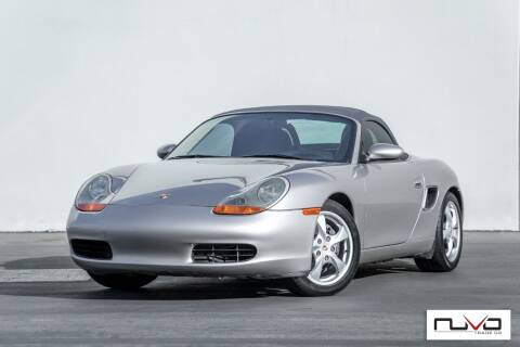 2002 Porsche Boxster for sale at Nuvo Trade in Newport Beach CA