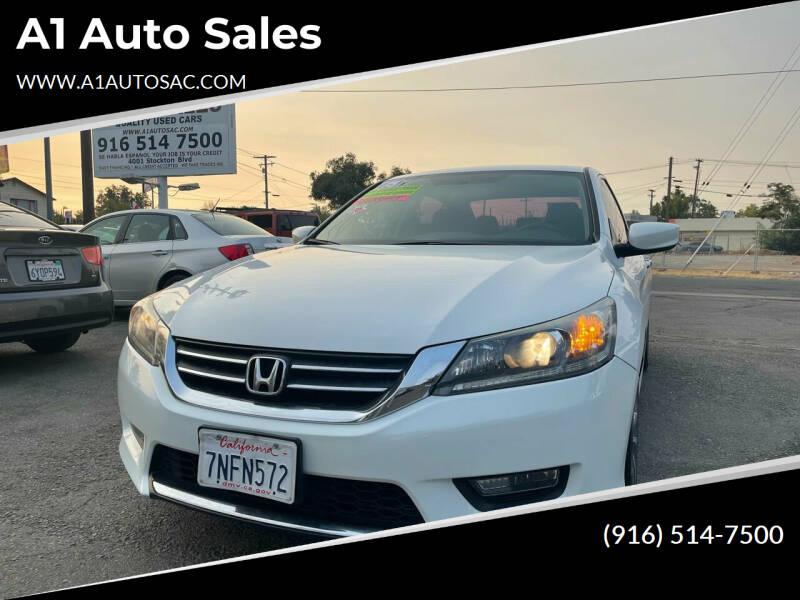 2015 Honda Accord for sale at A1 Auto Sales in Sacramento CA