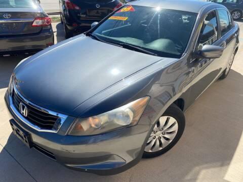 2008 Honda Accord for sale at Raj Motors Sales in Greenville TX