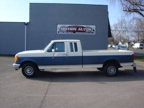 1990 Ford F-150 for sale at Motion Autos in Longview WA