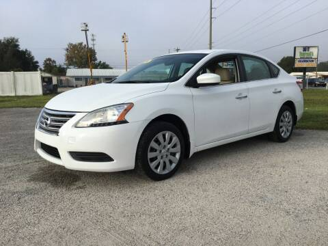 2014 Nissan Sentra for sale at First Coast Auto Connection in Orange Park FL