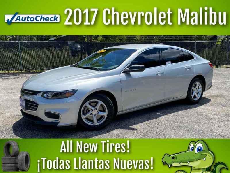 2017 Chevrolet Malibu for sale at LIQUIDATORS in Houston TX