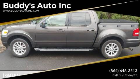 2007 Ford Explorer Sport Trac for sale at Buddy's Auto Inc in Pendleton SC