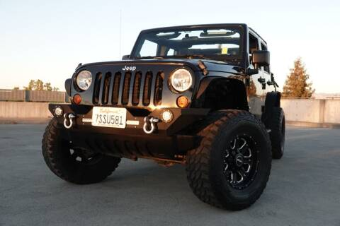 2012 Jeep Wrangler Unlimited for sale at BAY AREA CAR SALES in San Jose CA