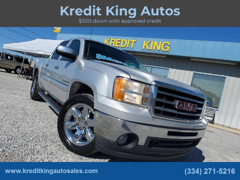 2012 GMC Sierra 1500 for sale at Kredit King Autos in Montgomery AL
