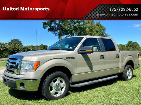2009 Ford F-150 for sale at United Motorsports in Virginia Beach VA