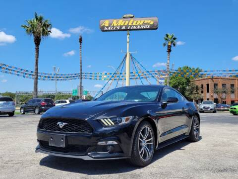 2016 Ford Mustang for sale at A MOTORS SALES AND FINANCE in San Antonio TX