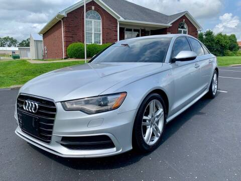 2012 Audi A6 for sale at HillView Motors in Shepherdsville KY