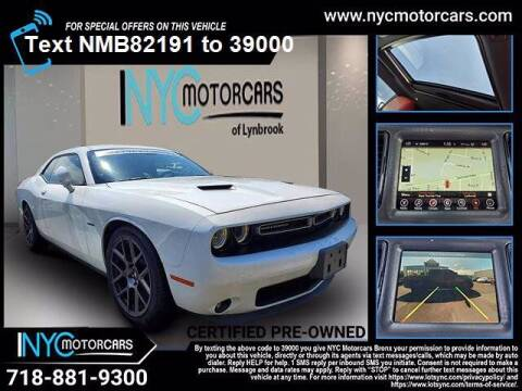 2017 Dodge Challenger for sale at NYC Motorcars in Freeport NY