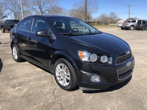 2013 Chevrolet Sonic for sale at Rabeaux's Auto Sales in Lafayette LA