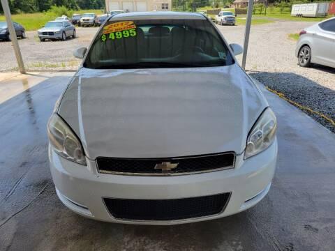 2012 Chevrolet Impala for sale at Auto Guarantee, LLC in Eunice LA