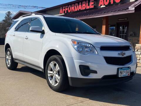 2015 Chevrolet Equinox for sale at Affordable Auto Sales in Cambridge MN