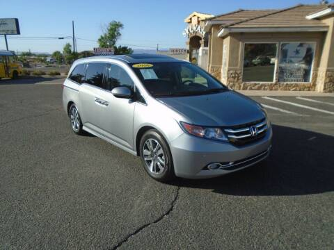 2016 Honda Odyssey for sale at Team D Auto Sales in St George UT