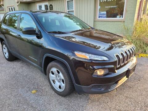 2014 Jeep Cherokee for sale at Sharpin Motor Sales in Columbus OH