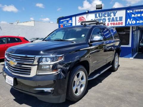 2015 Chevrolet Tahoe for sale at Lucky Auto Sale in Hayward CA