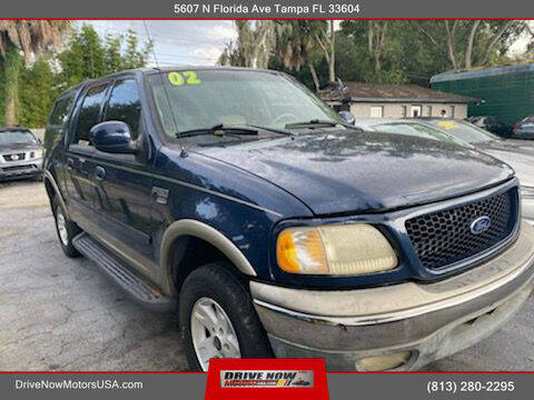 2002 Ford F-150 for sale at Drive Now Motors USA in Tampa FL