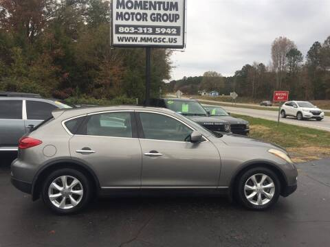 2010 Infiniti EX35 for sale at Momentum Motor Group in Lancaster SC