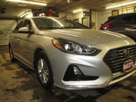 2018 Hyundai Sonata for sale at Percy Bailey Auto Sales Inc in Gardiner ME