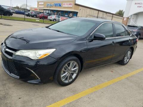 2017 Toyota Camry for sale at Nation Auto Cars in Houston TX