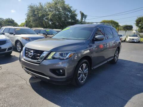 2017 Nissan Pathfinder for sale at Bargain Auto Sales in West Palm Beach FL