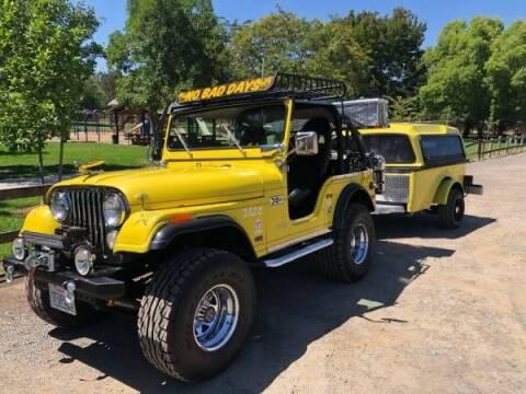 1975 Jeep CJ-5 for sale at Classic Car Deals in Cadillac MI