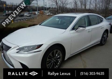 2018 Lexus LS 500h for sale at RALLYE LEXUS in Glen Cove NY