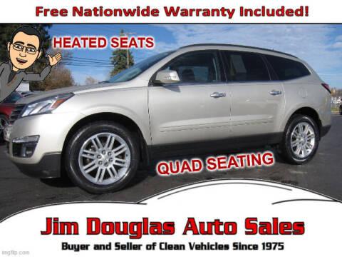 2014 Chevrolet Traverse for sale at Jim Douglas Auto Sales in Pontiac MI