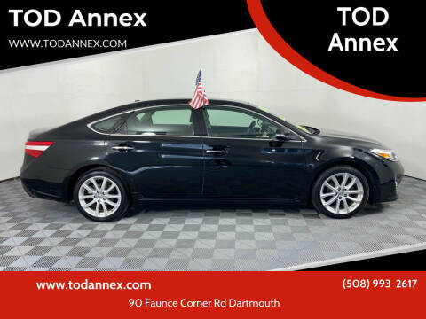 2013 Toyota Avalon for sale at TOD Annex in North Dartmouth MA