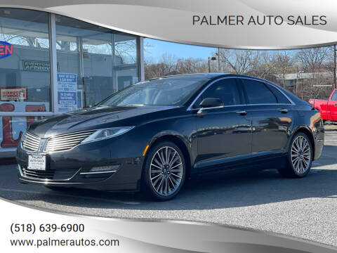 2014 Lincoln MKZ for sale at Palmer Auto Sales in Menands NY