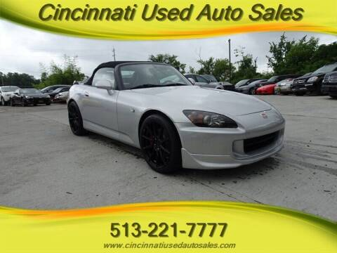 2006 Honda S2000 for sale at Cincinnati Used Auto Sales in Cincinnati OH