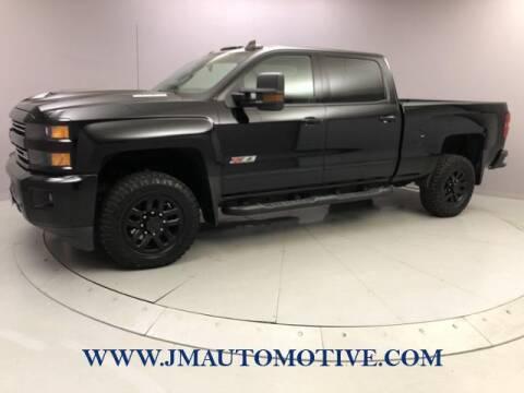 2018 Chevrolet Silverado 2500HD for sale at J & M Automotive in Naugatuck CT