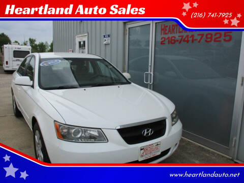 2007 Hyundai Sonata for sale at Heartland Auto Sales in Medina OH
