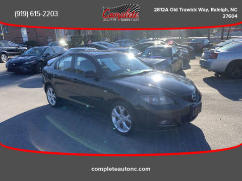 2009 Mazda MAZDA3 for sale at Complete Auto Center , Inc in Raleigh NC