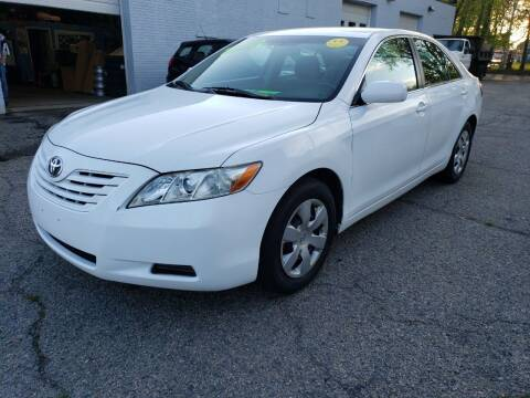 2007 Toyota Camry for sale at Devaney Auto Sales & Service in East Providence RI