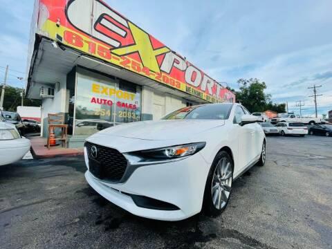 2021 Mazda Mazda3 Sedan for sale at EXPORT AUTO SALES, INC. in Nashville TN