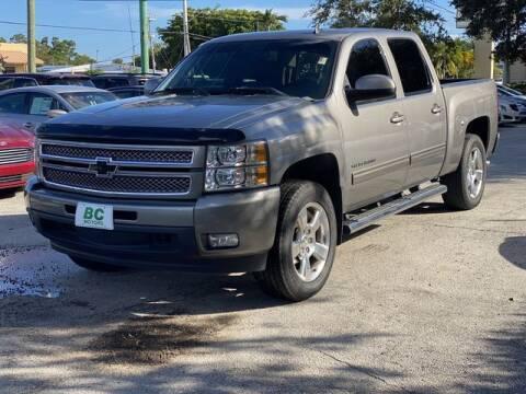 2012 Chevrolet Silverado 1500 for sale at BC Motors in West Palm Beach FL