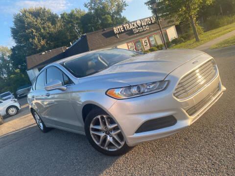 2013 Ford Fusion for sale at Rite Track Auto Sales in Canton MI